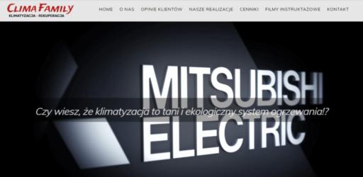 Strona dla firmy montującej systemy klimatyzacji
